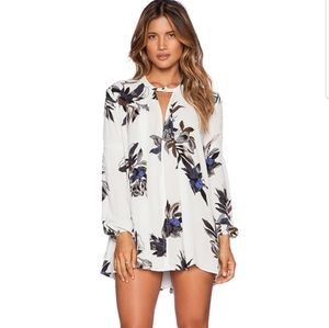 Free People Tree Swing Tunic in Light Stone